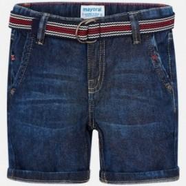 Mayoral 3228-62 Bermudy chłopięce kolor ciemny jeans