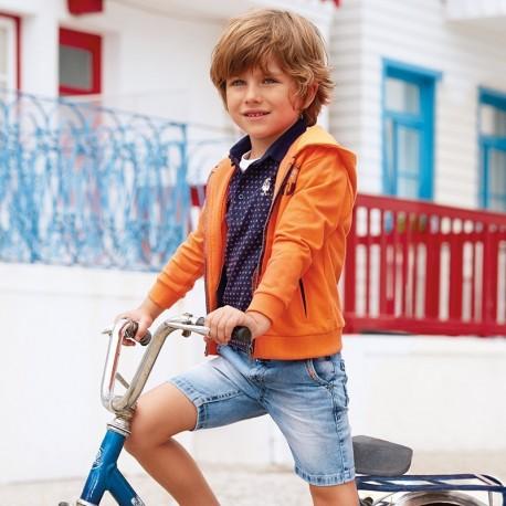 Mayoral 3228-61 Bermudy chłopięce kolor jasny jeans