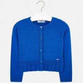 Mayoral 3303-83 Sweter dziewczęcy kolor niebieski