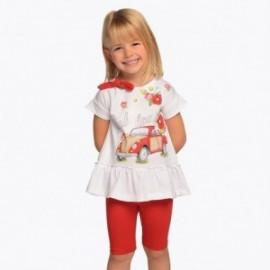 Mayoral 3509-84 Komplet dziewczęcy kolor czerwony
