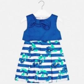 Mayoral 3923-65 Sukienka dziewczęca kolor niebieski