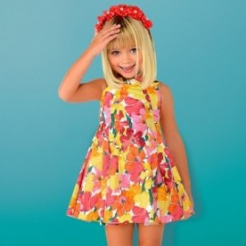Mayoral 3925-45 Sukienka dziewczęca kolor koralowy
