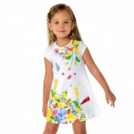 Mayoral 3948-41 Sukienka dziewczęca kolor żółty