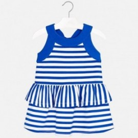 Mayoral 3954-53 Sukienka dziewczęca kolor niebieski