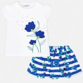 Mayoral 3957-60 Komplet dziewczęcy kolor niebieski