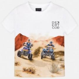 Mayoral 6035-75 Koszulka chłopięca kolor biały