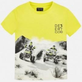 Mayoral 6035-76 Koszulka chłopięca kolor żółty