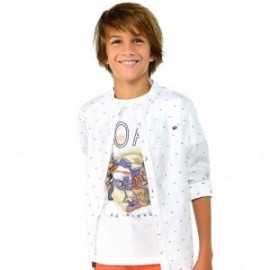 Mayoral 6036-59 Koszulka chłopięca kolor biały