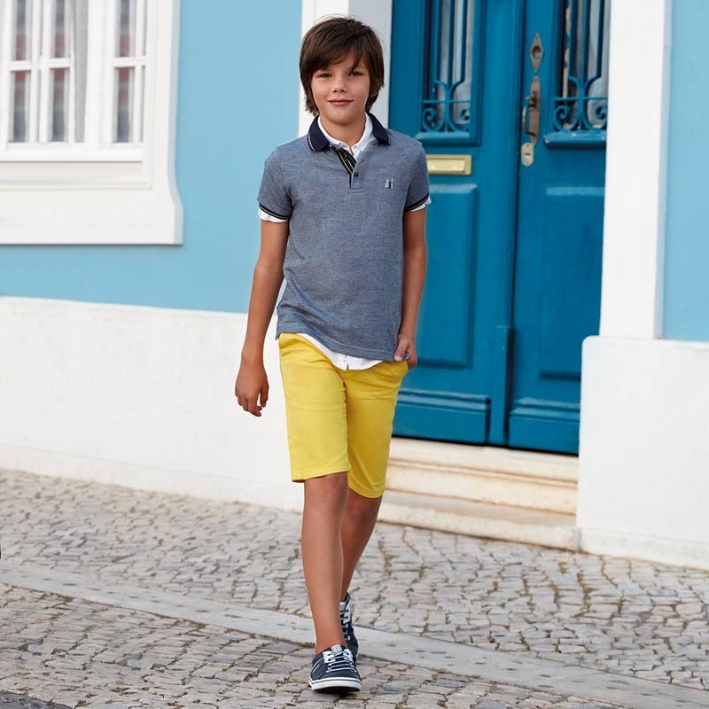 Mayoral 6124-14 Koszula chłopięca kolor biały