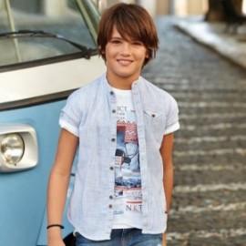 Mayoral 6128-38 Koszula chłopięca kolor niebieski