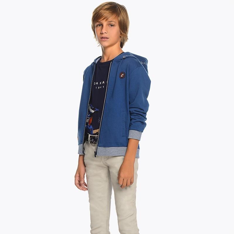 Mayoral 6510-90 Spodnie chłopięce kolor szary