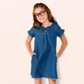 Mayoral 6942-5 Sukienka dziewczęca kolor jeans