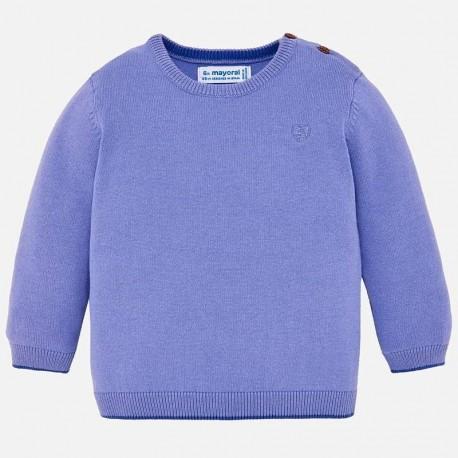 Mayoral 303-59 Sweter chłopięcy kolor lawendowy