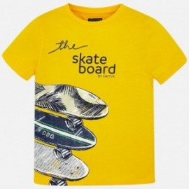 Mayoral 6038-95 Koszulka chłopięca kolor żółty