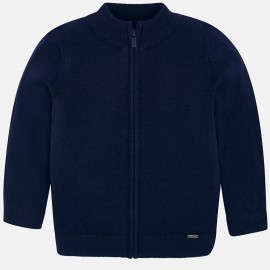 Mayoral 327-11 Sweter chłopięcy kolor granat