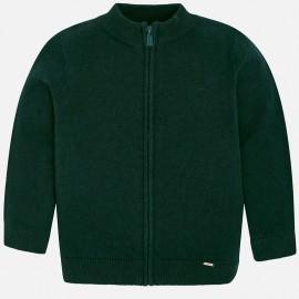 Mayoral 327-12 Sweter chłopięcy kolor zielony
