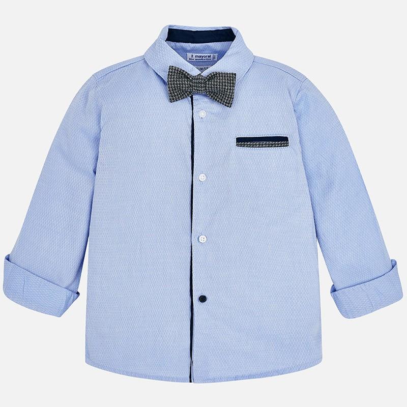 Mayoral 4138-93 Koszula chłopięca kolor niebieski