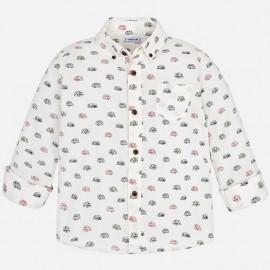 Mayoral 4156-22 Koszula chłopięca kolor śmietanka
