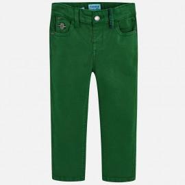Mayoral 4514-15 spodnie chłopięce kolor zielony