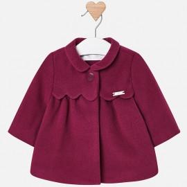 Mayoral 2440-69 Kurtka płaszcz dziewczęcy kolor śliwka