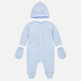 Mayoral 9914-63 Zestaw prezentowy dla noworodka kolor niebieski