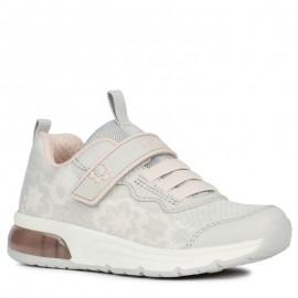 Sneakersy Geox dziewczęce szare J928VA-0006K-C1296