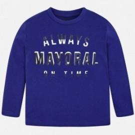 Mayoral 173-48 Koszulka chłopięca niebieska