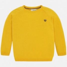 Mayoral 323-87 Sweter chłopięcy żółty