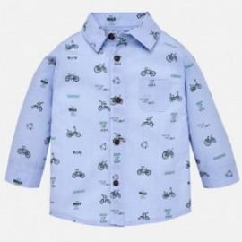 Mayoral 2140-88 Koszula chłopięca kolor błękitna