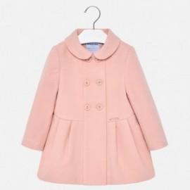 Mayoral 2480-49 Płaszcz dziewczęcy kolor różowy