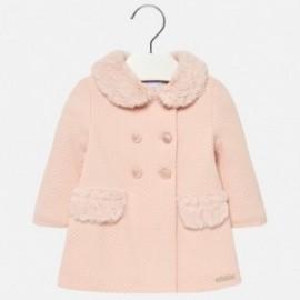 Mayoral 2482-56 Płaszcz dziewczęcy kolor różowy