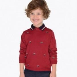 Mayoral 4306-30 Sweterek chłopięcy bordowy