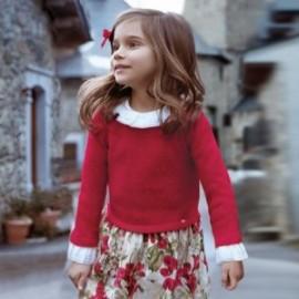 Mayoral 4946-70 Sukienka dziewczęca czerwona