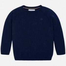 Mayoral 323-85 Sweter bawełniany chłopięcy granat