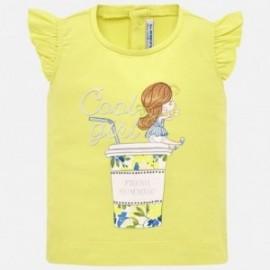 Mayoral 1016-31 Koszulka dziewczęca żółta