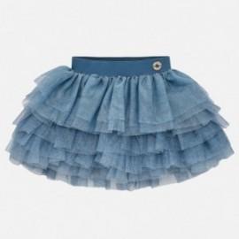 Mayoral 1901-54 Spódnica dziewczęca tiulowa niebieska