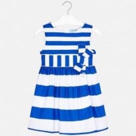 Mayoral 3924-43 Sukienka dziewczęca niebieska