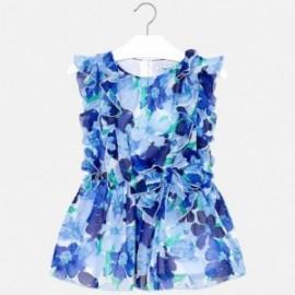 Mayoral 3929-46 Sukienka dziewczęca niebieska