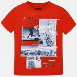 Mayoral 6048-55 Koszulka chłopięca czerwona