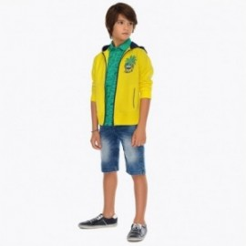 Mayoral 6229-41 Bermudy chłopięce jeans niebieskie