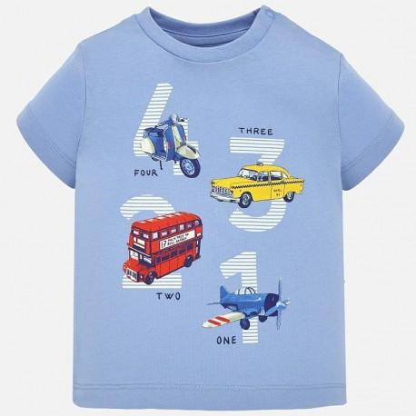 Mayoral 1021-47 Koszulka chłopięca błękitna