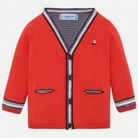 Mayoral 1315-27 Sweter chłopięcy czerwony