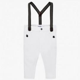 Mayoral 1524-37 Spodnie chłopięce białe