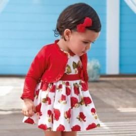Mayoral 1934-71 Sukienka dziewczęca czerwona