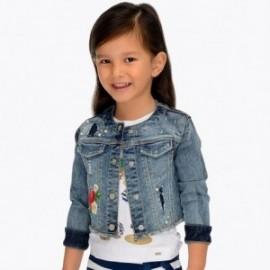 Mayoral 3408-50 Kurtka jeans dziewczęca niebieska
