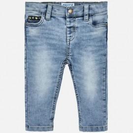 Mayoral 1525-85 Spodnie jeans chłopięce kolor niebieski