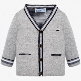 Mayoral 1315-28 Sweter chłopięcy kolor szary