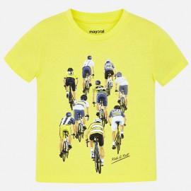 Mayoral 3028-65 Koszulka chłopięca kolor żółty