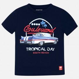 Mayoral 3032-68 Koszulka k/r samochód kolor Granatowy