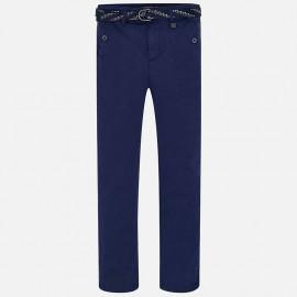 Mayoral 6510-92 Spodnie z paskiem kolor Nieb.ciem